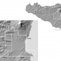 Fig. 1. Sicily, the study area