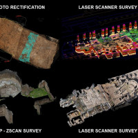 Fig. 4. Different survey tools used during archaeological excavations (years 2003-2013).