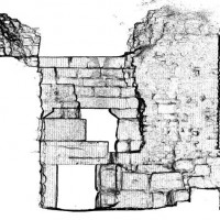 Fig. 8. Front of the Lion's Gate (by M. Benfatti)
