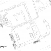 Fig. 3 The mausoleum. Some graves inside and outer the building