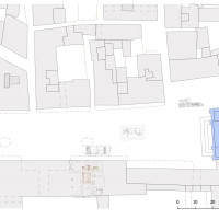 Fig. 1. Location of most relevant Superintendency's digs. Archaeological maps from Profumo 2009, georeferencing by the author.