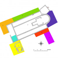 Fig. 2 Cemeteries areas at San Severo