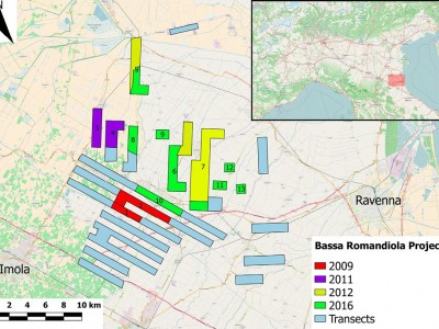 The medieval rural settlement in Bassa Romagna: a first predictive model and future directions