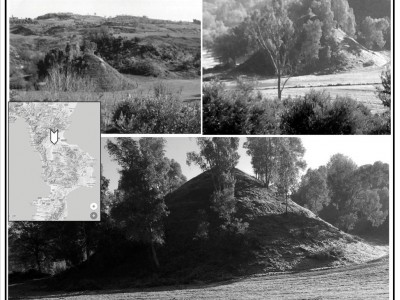 An unusual tumulus or cenotaph at Cozzo Rotondo, town of Grifone (Bisignano, Cosenza, Italy). New and old geological investigation for an archaeological discovery