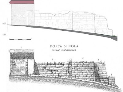A new topographic survey of the walls of Pompeii: Porta Nola from 3D laser scanner to conservation problems