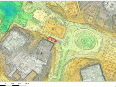 Rome, Colosseum square and NE slopes of the Palatine hill: toward an integrated 3D system for stratigraphic data management and ancient urban landscape reconstruction